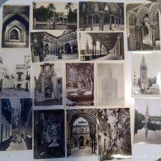 Postales: LOTE 29 POSTALES SEVILLA FOTOGRAFICAS. Lote 221814872