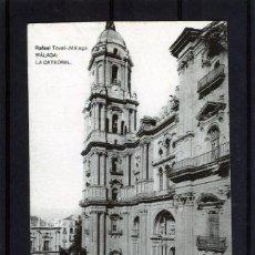 Postales: POSTAL VISTA DE MALAGA-EDICIÓN RAFAEL TOVAR DE MALAGA-NUEVA SIN CIRCULAR .. Lote 221884007