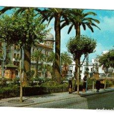 Postales: HUELVA - PLAZA DE LAS MONJAS - FOTOGRAFIA CAMPAÑÁ Y J. PUIG FERRAN. Lote 221993266