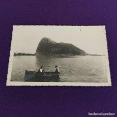 Postales: POSTAL DE LA LINEA DE LA CONCEPCION (CADIZ). Nº9 EL PEÑON DE GIBRALTAR. AÑOS 50.. Lote 222036731
