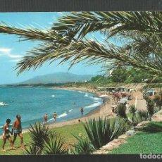 Postales: POSTAL SIN CIRCULAR - MARBELLA 1117 - VISTA PARCIAL DE LA PLAYA - MALAGA - EDITA BEASCOA. Lote 222409657