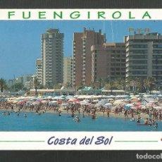 Postales: POSTAL CIRCULADA - FUENGIROLA - PLAYA Y PASEO MARITIMO - MALAGA - EDITA ESCUDO DE ORO. Lote 222409971