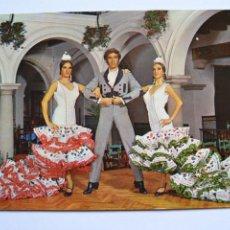 Postales: POSTAL. 1036. PACO DE LUCIO Y SUS DANZAS DE ESPAÑA. CAFÉ DE LOS CUATRO REYES. ED. EFA. ESCRITA.. Lote 222424807