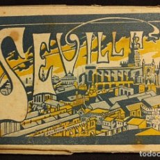 Postales: ACORDEÓN DE 20 POSTALES DE SEVILLA. L. ROISIN, FOT. BARCELONA. 1925 H.. Lote 222447577