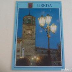 Postales: POSTAL Nº 87. UBEDA. TORRE, PLAZA ANDALUCIA. ESCRITA. POST CARD. Lote 222620836