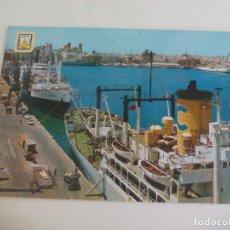 Postales: POSTAL CADIZ. MUELLE. Nº 1157. BARCO BEGOÑA CIRCULADA.. . POST CARD. Lote 222622767