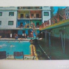 Postales: POSTAL GRANADA, LANJARON SERIE 45 Nº 350. GRAN PISCINA DEL CASTILLO. 1971 CIRCULADA. POST CARD. Lote 222622918