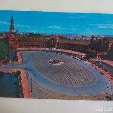 Postales: POSTAL 14. SEVILLA PLAZA DE ESPAÑA. CIRCULADA. POST CARD. Lote 222669162