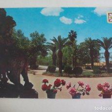 Postales: POSTAL Nº 20 LINARES. JAEN. GLORIETA Y PASEO DE LINAREJOS. FISA. SIN CIRCULAR. POST CARD. Lote 222670145