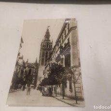 Postales: SEVILLA - POSTAL SEVILLA - LA GIRALDA DESDE LA CALLE DE MATEO GAGO. Lote 222688715