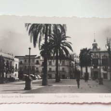 Postales: SANLÚCAR DE BARRAMEDA - PLAZA DEL CABILDO - Nº 48 ED. ARRIBAS. Lote 222762133