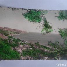 Postales: ANTIGUA TARJETA POSTAL FOTOGRÁFICA, MÁLAGA , VISTA PARCIAL DE LA CALETA , VER FOTOS. Lote 222958956