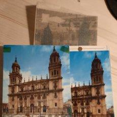 Postales: JAEN / FACHADA CATEDRAL .- NEGATIVOS Y PRUEBAS DE COLOR / EDICIONES PERGAMINO. Lote 223676761