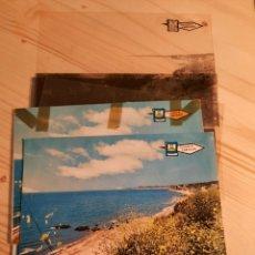 Postales: CARVAJAL / PLAYA .- NEGATIVOS Y PRUEBAS DE COLOR / EDICIONES PERGAMINO. Lote 223681835