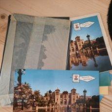 Postales: SEVILLA .- PLAZA DE AMERICA / POSTAL , NEGATIVOS Y PRUEBAS DE COLOR / EDICIONES PERGAMINO. Lote 223703368