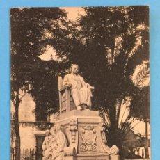 Postales: TARJETA POSTAL DE JEREZ DE LA FRONTERA - MONUMENTO AL MARQUÉS DE CASA DOMECQ.. Lote 223740300