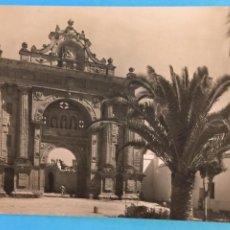 Postales: TARJETA POSTAL DE JEREZ DE LA FRONTERA - ENTRADA PRINCIPAL.. Lote 223745550