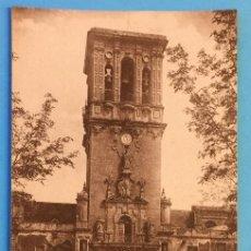 Postales: TARJETA POSTAL DE ARCOS DE LA FRONTERA - TORRE Y FACHADA LATERAL CE SANTA MARIA.. Lote 223746060