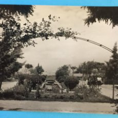 Postales: TARJETA POSTAL DE SAN FERNANDO - PARQUE ALMIRANTE LAULHE.. Lote 223749996