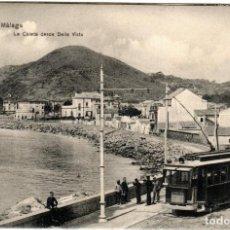 Postales: PRECIOSA POSTAL - MALAGA - LA CALETA DESDE BELLA VISTA. Lote 223960661