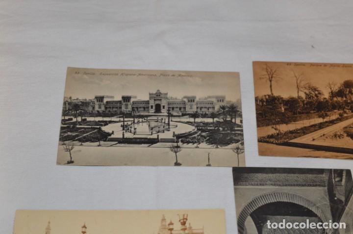 Postales: Serie de 10 postales - SEVILLA - Antiguas, buen estado, sin circular - ¡Mira fotos! - Foto 7 - 224361010