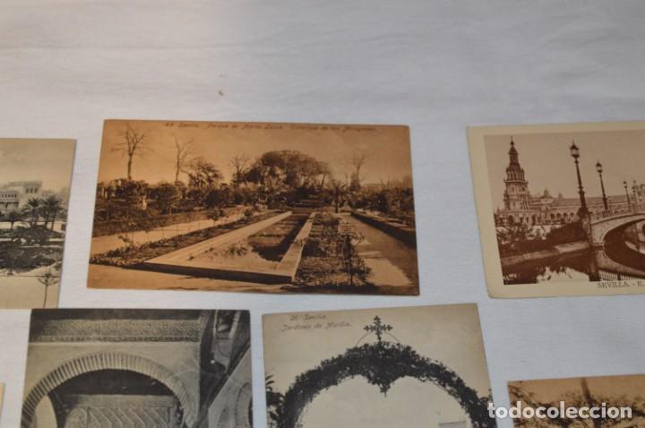 Postales: Serie de 10 postales - SEVILLA - Antiguas, buen estado, sin circular - ¡Mira fotos! - Foto 8 - 224361010
