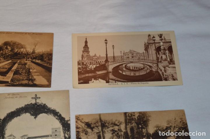 Postales: Serie de 10 postales - SEVILLA - Antiguas, buen estado, sin circular - ¡Mira fotos! - Foto 9 - 224361010
