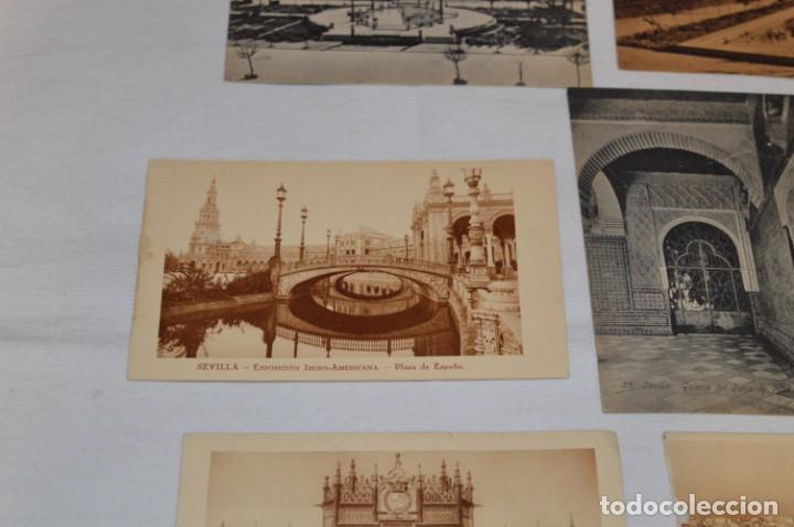 Postales: Serie de 10 postales - SEVILLA - Antiguas, buen estado, sin circular - ¡Mira fotos! - Foto 10 - 224361010