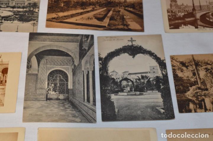 Postales: Serie de 10 postales - SEVILLA - Antiguas, buen estado, sin circular - ¡Mira fotos! - Foto 11 - 224361010