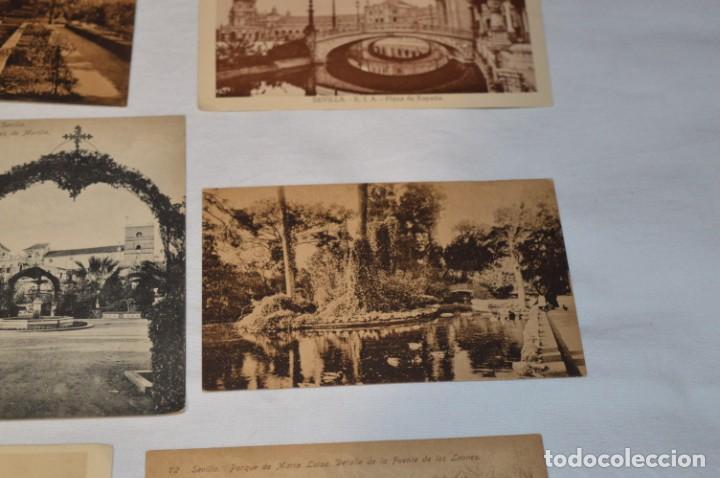 Postales: Serie de 10 postales - SEVILLA - Antiguas, buen estado, sin circular - ¡Mira fotos! - Foto 12 - 224361010