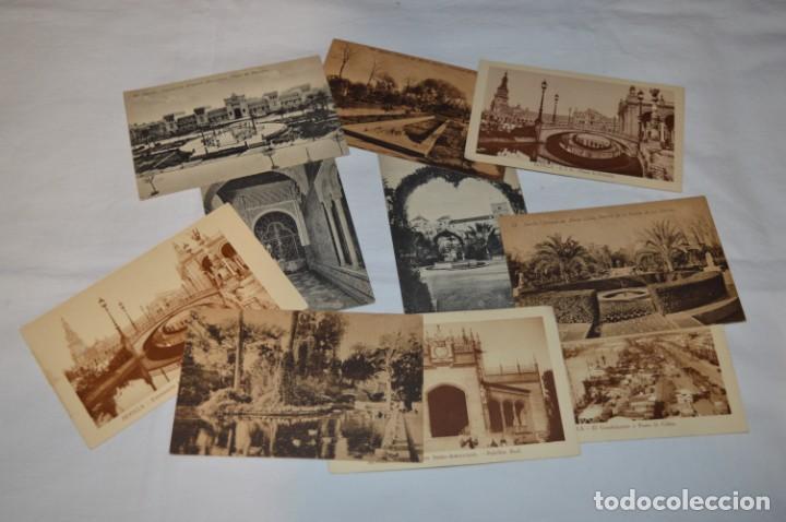 SERIE DE 10 POSTALES - SEVILLA - ANTIGUAS, BUEN ESTADO, SIN CIRCULAR - ¡MIRA FOTOS! (Postales - España - Andalucía Antigua (hasta 1939))