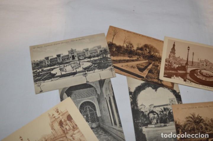 Postales: Serie de 10 postales - SEVILLA - Antiguas, buen estado, sin circular - ¡Mira fotos! - Foto 2 - 224361010