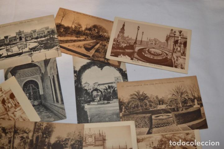 Postales: Serie de 10 postales - SEVILLA - Antiguas, buen estado, sin circular - ¡Mira fotos! - Foto 3 - 224361010