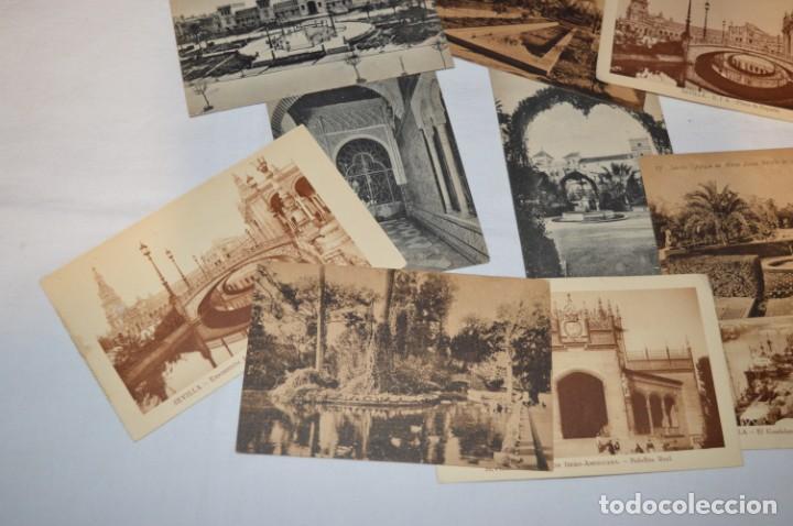 Postales: Serie de 10 postales - SEVILLA - Antiguas, buen estado, sin circular - ¡Mira fotos! - Foto 4 - 224361010