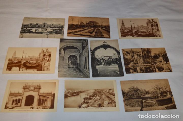 Postales: Serie de 10 postales - SEVILLA - Antiguas, buen estado, sin circular - ¡Mira fotos! - Foto 6 - 224361010