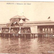 Postales: HUELVA - BALNEARIO DEL ODIEL. EDICIÓN R. MOJARRO. SIN CIRCULAR.. Lote 225120955