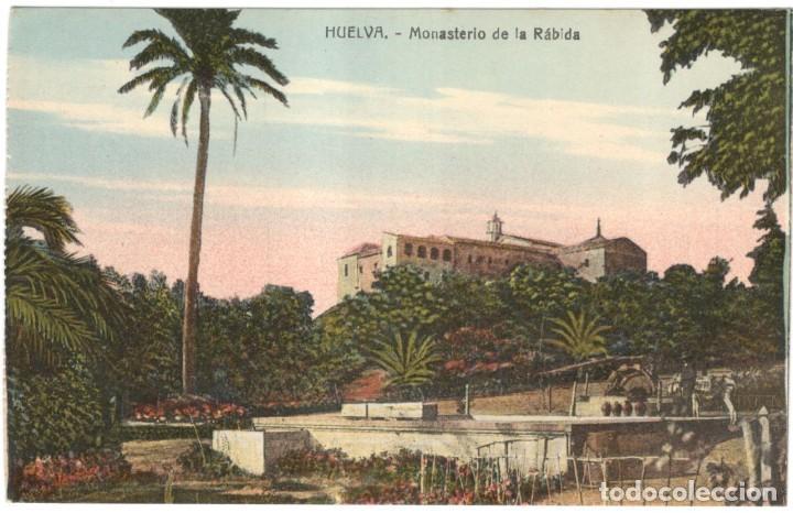 HUELVA - MONASTERIO DE LA RÁBIDA. SIN CIRCULAR, (Postales - España - Andalucía Antigua (hasta 1939))