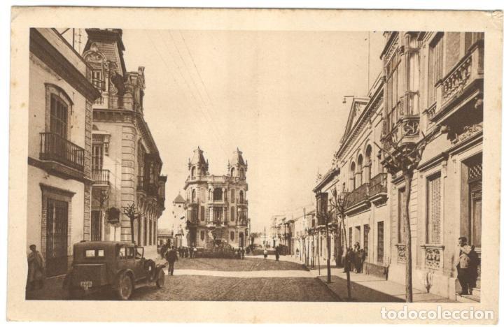 HUELVA. CALLE CANOVAS. Nº 14. L. ROISÍN, SIN CIRCULAR. (Postales - España - Andalucía Antigua (hasta 1939))