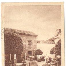 Postales: CÓRDOBA. PATIO DE ENTRADA AL MUSEO. CIRCULADA EN 1926.. Lote 225193875