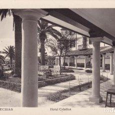 Postales: 3 ALGECIRAS HOTEL CRISTINA CÁDIZ (ESCRITA). Lote 225762925