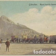 Cartes Postales: POSTAL ANTIGUA DE GIBRALTAR. ROCK FROM THE SPANISH FRONTIER P-GIBR-217. Lote 226957095