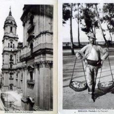 Postales: DIEZ POSTALES DE MALAGA-EDITADAS POR L.ROISIN-NUEVAS SIN CIRCULAR-VER FOTOS ADICUINALES DEL RESTO .. Lote 226969490