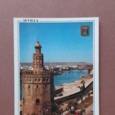 Cartoline: POSTAL 102 DOMÍNGUEZ. FISA. TORRE DEL ORO Y GUADALQUIVIR. SEVILLA. 1963. SIN CIRCULAR.. Lote 227233465