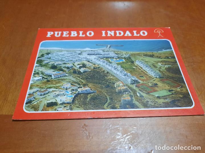 PUEBLO INDALO. 302. PLAYA DE MOJACAR. POSTAL. SIN CIRCULAR. BUEN ESTADO. DIFICIL (Postales - España - Andalucia Moderna (desde 1.940))