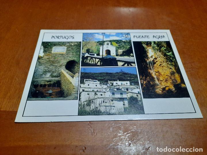PORTUGOS. FUENTE AGRIA. ERMITA. 319. POSTAL. SIN CIRCULAR. BUEN ESTADO. DIFICIL (Postales - España - Andalucia Moderna (desde 1.940))