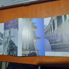 Postales: PLAZA DE ESPAÑA. PARQUE MARIA LUISA. TIRA DE POSTALES Y FOTOS. SIN CIRCULAR. BUEN ESTADO. DIFICIL. Lote 227279520