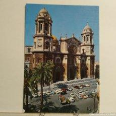 Postales: Nº 43 CADIZ, LA CATEDRAL, FACHADA PRINCIPAL, EDICIONES SICILIA. Lote 227915330