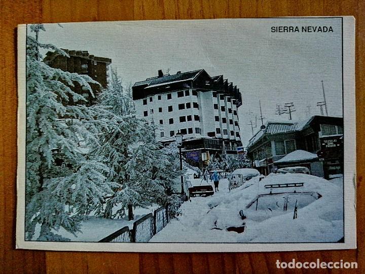 POSTAL - SIERRA NEVADA (GRANADA). (Postales - España - Andalucia Moderna (desde 1.940))
