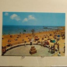 Postales: 7671 CHIPIONA (CADIZ) PLAYA DE LA CRUZ DEL MAR, ED. BEASCOA, PAPELERIA FERREIRA. Lote 228002170