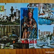 Postales: POSTAL - MÁLAGA (COSTA DEL SOL) - DIVERSOS ASPECTOS.. Lote 228010220